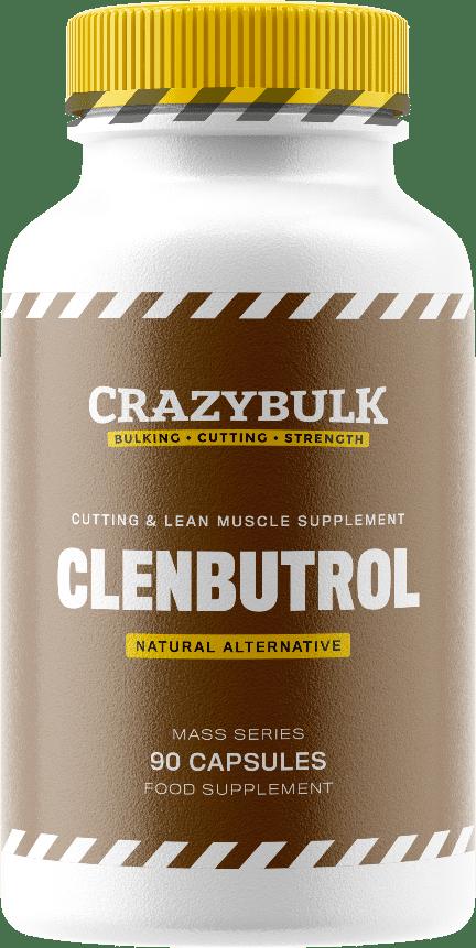 Bouteille de Clenbutrol de la marque Crazy Bulk